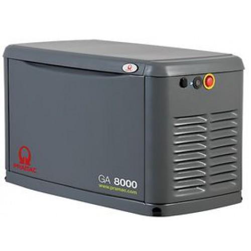 Газовый генератор Pramac GA8000 в кожухе